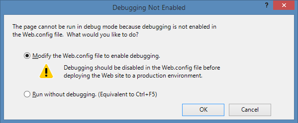 Debug Question in VS2012